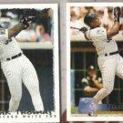 FRANK THOMAS 1995 + 1996 Topps.  WHITE SOX