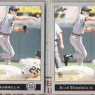 ALAN TRAMMELL (2) 1992 Leaf #172.  TIGERS