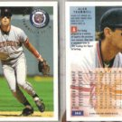 ALAN TRAMMELL (2) 1994 Fleer #144.  TIGERS