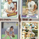 ALAN TRAMMELL (4) Early 1980's Mid Grades O/C.  TIGERS