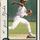 MIGUEL TEJADA 1998 Bowman #205.  A's