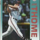 JIM THOME 1992 Fleer #125.  INDIANS