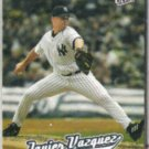 JAVIER VAZQUEZ 2005 Fleer Ultra #56.  YANKEES