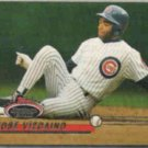 JOSE VIZCAINO 1993 Stadium Club #68.  CUBS