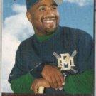 GREG VAUGHN 1996 Upper Deck #363.  BREWERS