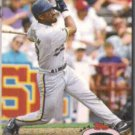 GREG VAUGHN 1992 Stadium Club #666.  BREWERS
