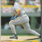GREG VAUGHN 1992 Fleer Ultra #86.  BREWERS