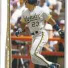 GREG VAUGHN 1992 Upper Deck HR Heroes Insert #HR20.  BREWERS