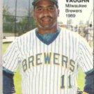 GREG VAUGHN 1989 Star Rookie Fever #3 of 10.  BREWERS