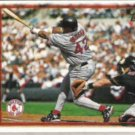 MO VAUGHN 1997 Topps #450.  RED SOX