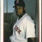 MO VAUGHN 1992 Premier #50.  RED SOX