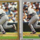 MO VAUGHN 1999 Topps + Opening Day.  RED SOX