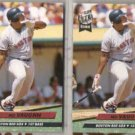 MO VAUGHN (2) 1992 Fleer Ultra Rookie #23.  RED SOX
