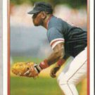 MO VAUGHN 1991 Premier #124.  RED SOX