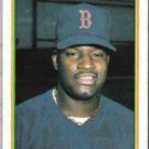 MO VAUGHN 1990 Bowman #275.  RED SOX