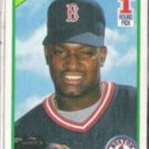 MO VAUGHN 1990 Score #1 Draft Pick #675.  RED SOX