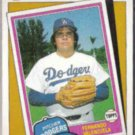 FERNANDO VALENZUELA 1986 Topps TBTC #401.  DODGERS