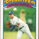FERNANDO VALENZUELA 1989 Topps KMart #32.  DODGERS