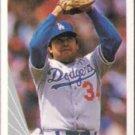 FERNANDO VALENZUELA 1990 Leaf #68.  DODGERS