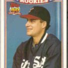 ROBIN VENTURA 1991 Topps Rookies Glossy #31 of 33.  WHITE SOX