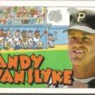 ANDY VAN SLYKE 1992 Topps Kids #23.  PIRATES