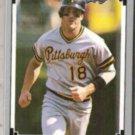 ANDY VAN SLYKE 1991 Leaf #310.  PIRATES