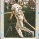 ANDY VAN SLYKE 1988 Fleer Star Stickers #116.  PIRATES