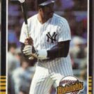 DAVE WINFIELD 1985 Donruss Highlights #53.  YANKEES