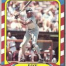 DAVE WINFIELD 1987 Fleer Limited Edition #42 of 44.  YANKEES