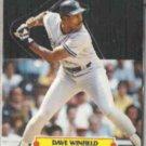 DAVE WINFIELD 1987 Leaf Pop Up N#OB.  YANKEES