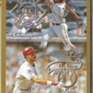 LARRY WALKER 1998 Topps Interleague w/ J. Gonzalez.  ROCKIES