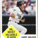 LARRY WALKER 1998 Fleer Vintage 63 #22.  ROCKIES