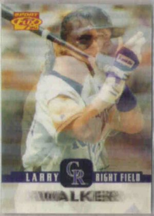 LARRY WALKER 1996 Sportflix #72.  ROCKIES