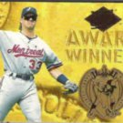 LARRY WALKER 1994 Ultra Award Winner Ins. #17 of 25.  EXPOS
