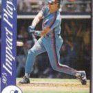 LARRY WALKER 1992 Score Impact Player Ins. #29.  EXPOS