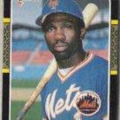 MOOKIE WILSON 1987 Donruss #487.  METS