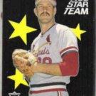 TODD WORRELL 1987 Fleer All Star Insert #8 of 12.  CARDS