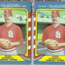 TODD WORRELL (2) 1987 Fleer Limited Edition #43 of 44.  CARDS