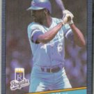 WILLIE WILSON 1986 Leaf #106.  ROYALS