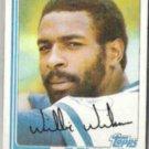 WILLIE WILSON 1982 Topps #230.  ROYALS