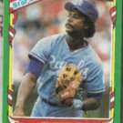 FRANK WHITE 1987 Fleer Star Stickers #123.  ROYALS