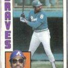 BOB WATSON 1984 Topps #739.  BRAVES