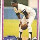 BOB WATSON 1981 Topps #690.  YANKEES