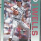 DAVID WELLS 1992 Fleer #345.  BLUE JAYS