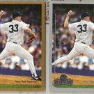 DAVID WELLS 1999 Topps + Opening Day.  BLUE JAYS