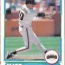 MATT WILLIAMS 1988 Score Young Stars #18 of 40.  GIANTS
