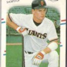 MATT WILLIAMS 1988 Fleer #101.  GIANTS