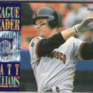 MATT WILLIAMS 1995 Fleer Leader Insert #7 of 10.  GIANTS