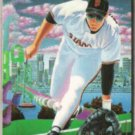 MATT WILLIAMS 1994 Fleer Pro Vision Insert #3 of 9.  GIANTS