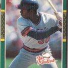DEVON WHITE 1987 Donruss The Rookies #8.  ANGELS